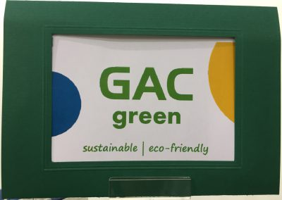 Sought after: GAC green