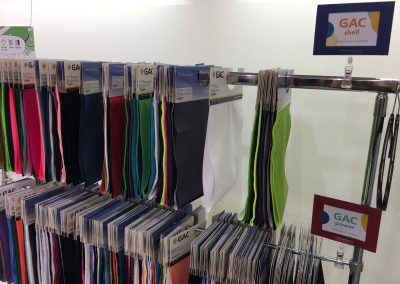 Hangers with our latest fabrics